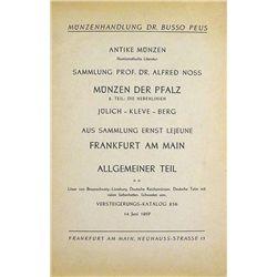 SAMMLUNG PROF. DR. ALFRED NOSS
