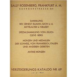 ROSENBERG VERSTEIGERUNGS-KATALOG