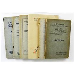 Six First-Generation Schulman Catalogues