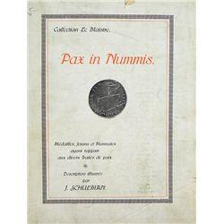 COLLECTION LE MAISTRE, PAX IN NUMMIS 1912