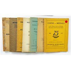 Seven Second-Generation Schulman Catalogues