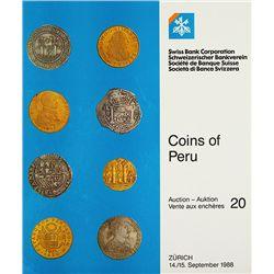 COINS OF PERU