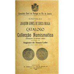 SOUZA LOBO ON BRAZILIAN COINS