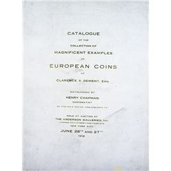 BEMENT EUROPEAN COINS