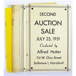 HUTTER AUCTION SALES