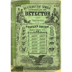 KENNEDY COUNTERFEIT BANK NOTE DETECTOR