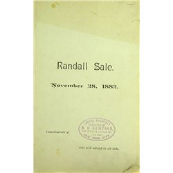 THE RANDALL SALE