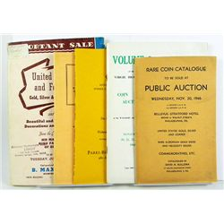 U.S. AUCTION CATALOGUES
