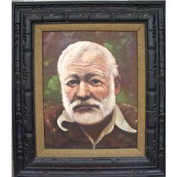 M. F. Heimbach: Remake of Hemingway Oil Painting