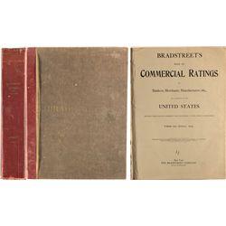 Bradstreet's Book of Commercial ratings of bankers, merchants, manufacturers 1924