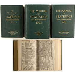 The Manual of Statistics, Stock Exchange Hand-book, 1899, 1903, 1911