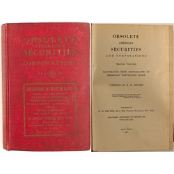Obsolete American Securities and Corporations, Volume II, Smythe, 1911