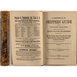 Campbell's Shippers' Guide and Travelers' Directory, 1870