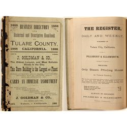 Business Directory and Historical and Descriptive Handbook of Tulare County, 1888