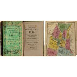 Geer's Hartford City Directory, 1844