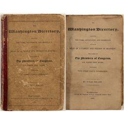 Washington Directory 1822