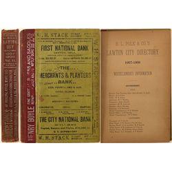 Lawton City Directory, 1907, Volume II