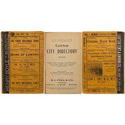 Lawton City Directory, 1909, Volume III