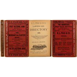 Lawton City Directory, 1905, Volume I