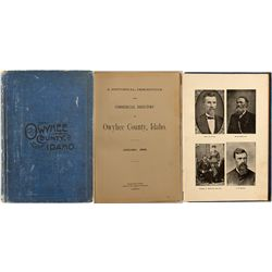 A Historical, Descriptive and Commercial Directory of Owyhee County, Idaho, January 1898.