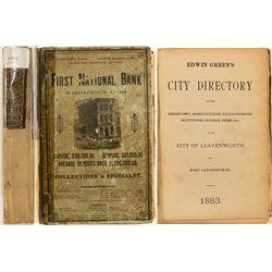 Edwin Green's City Directory of City of Leavenworth, 1883