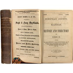 Doniphan County, Kansas, History and Directory, 1868-69