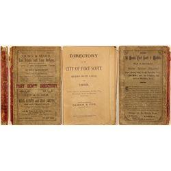 Fort Scott, Kansas Directory, 1883
