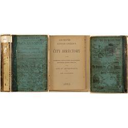 City of Leavenworth, KS and Fort Leavenworth Directory, 1882