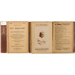 City of Leavenworth, KS Directory, 1896-97