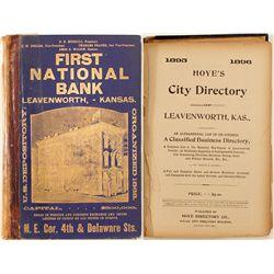 City of Leavenworth, KS Directory, 1895-96