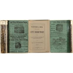 City of Leavenworth, KS Directory, 1875