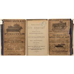 City of Leavenworth, KS and Fort Leavenworth Directory, 1879-80