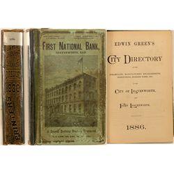 City of Leavenworth, KS and Fort Leavenworth Directory, 1886