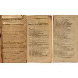 Boston Directory, 1798