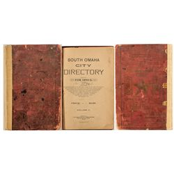 South Omaha City Directory for 1892-3