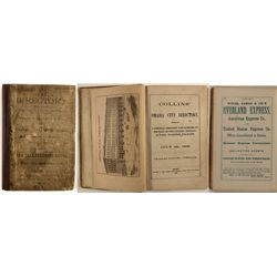 1868 Omaha Directory with CDV of Charles Collins