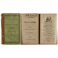 Pierson's Directory to the City of Newark, 1838-9