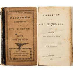 Pierson's Directory to the City of Newark, 1837-38