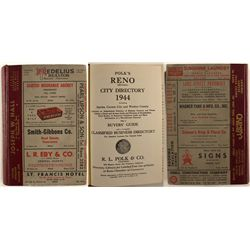 1944 Reno area Directory, Polk