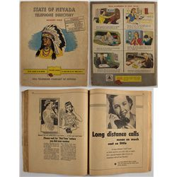 1956 Nevada telephone directory