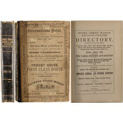 Storey, Ormsby, Washoe & Lyon Counties Directory, 1871-1872