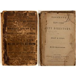 Doggett's New York City Directory, 1847 & 1848