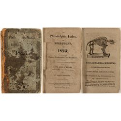 Philadelphia Index or Directory for 1823