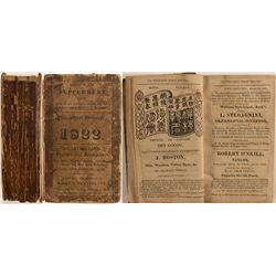 Philadelphia Directory for 1822