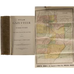 Utah Gazetteer and Directory of Logan, Ogden, Provo