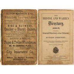 Bristol and Warren Directory, 1876-77