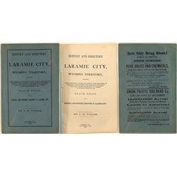 History and Directory of Laramie City, Wyoming Territory, 1875.