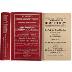 Turner's Directory for New York, Mamaroneck, Harrison, Rye and Others