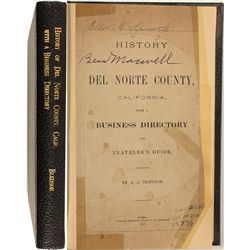 Del Norte County, Calif. Business Directory, 1881