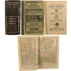 New England Business Directory and Gazetteer, 1922
